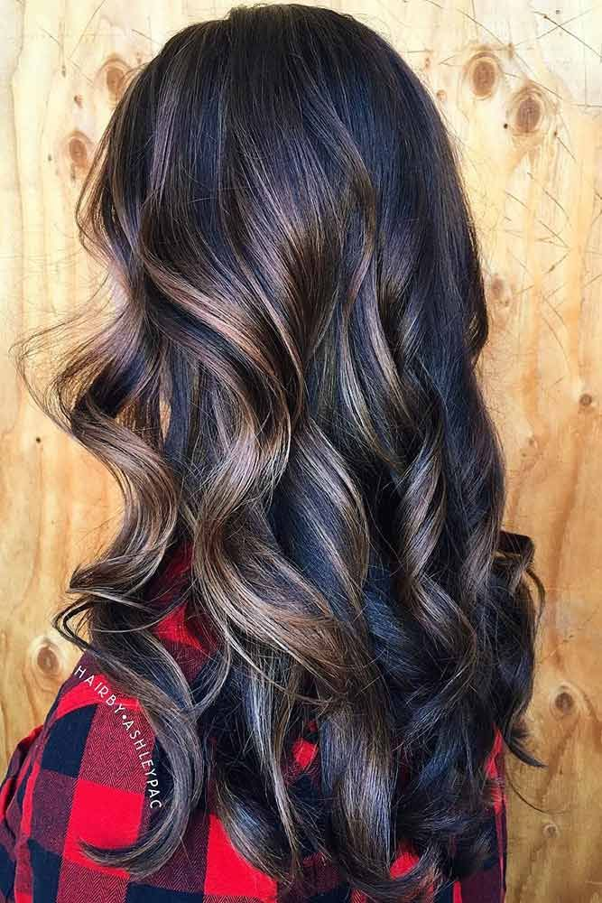 Chocolate brown hair looks very beautiful and 'tasty' as it reminds of t...