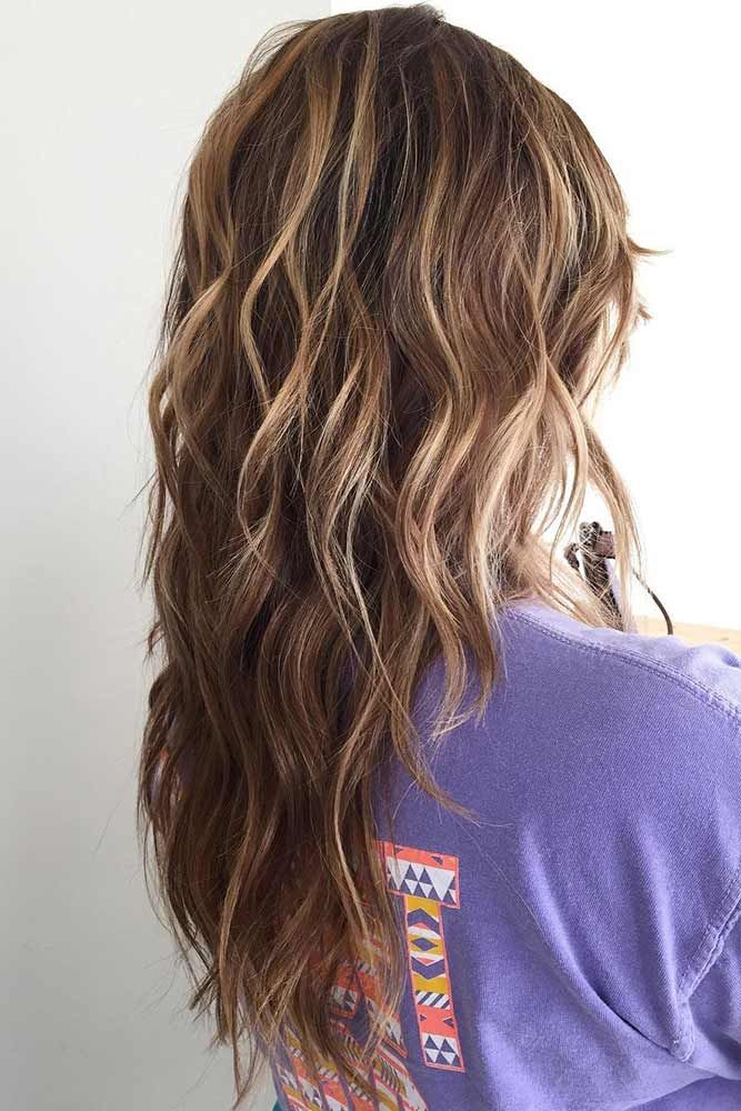 Light Brown Highlights For Bruentte ❤️ Upgrade your plain brown hair color w...