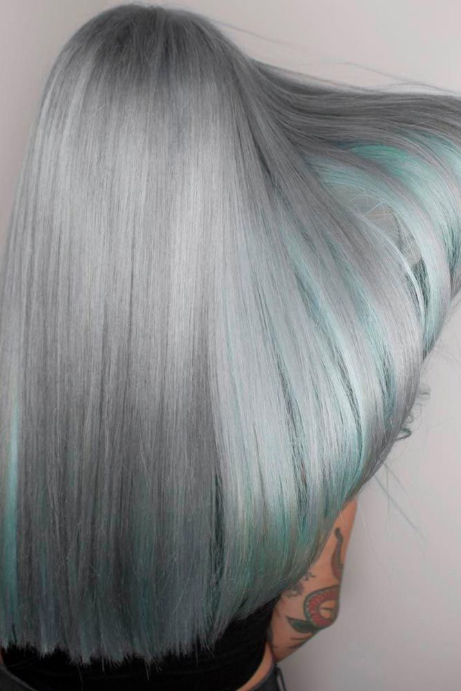Gray hair is becoming quite trendy thanks to pop stars like Pink and Rihanna. Ch...