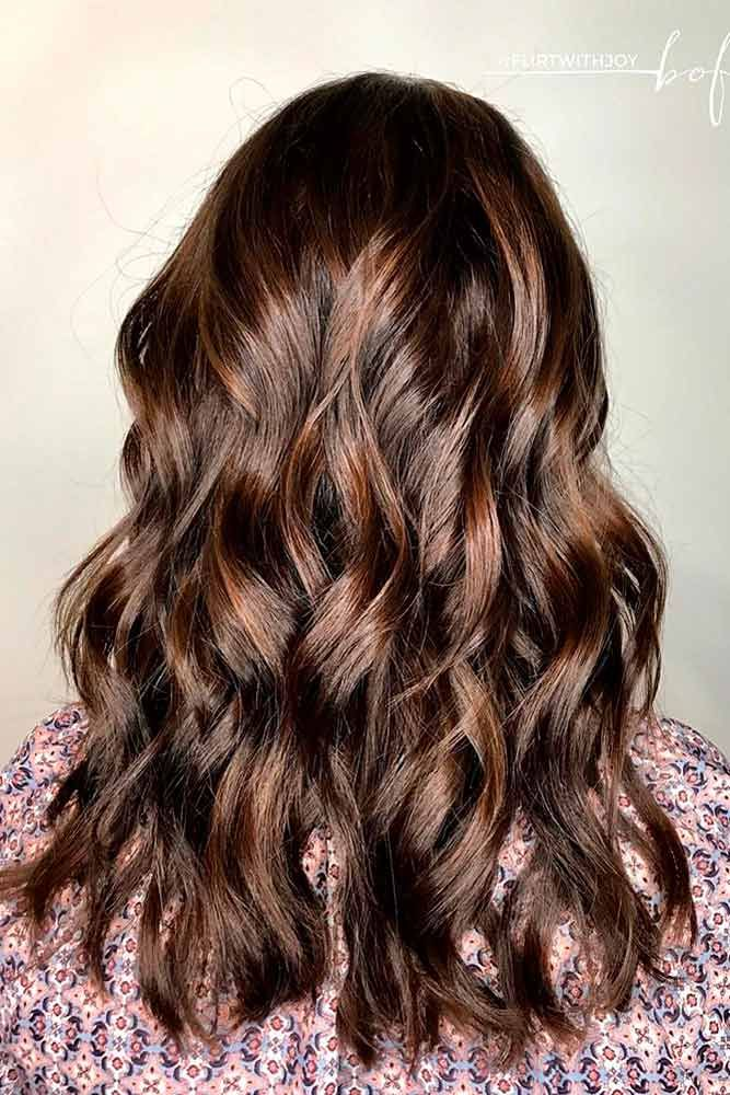Highlights for Dark Brown Hair Color Tiger Eye: 15 Stunning New Ideas ❤ Silky ...
