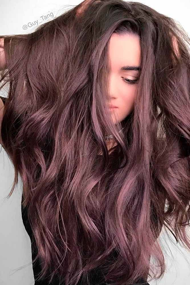 Hair Color 2017 2018 Chocolate Lilac Hair How
