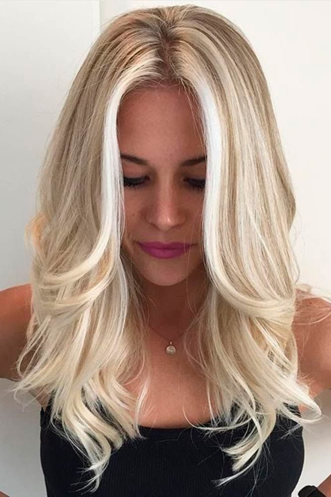 Pretty Shades of Platinum Blonde Hair ★ See more: lovehairstyles.co......