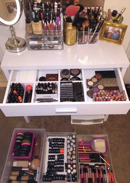21 Ways Real People Store and Organize Their Makeup | StyleCaster
