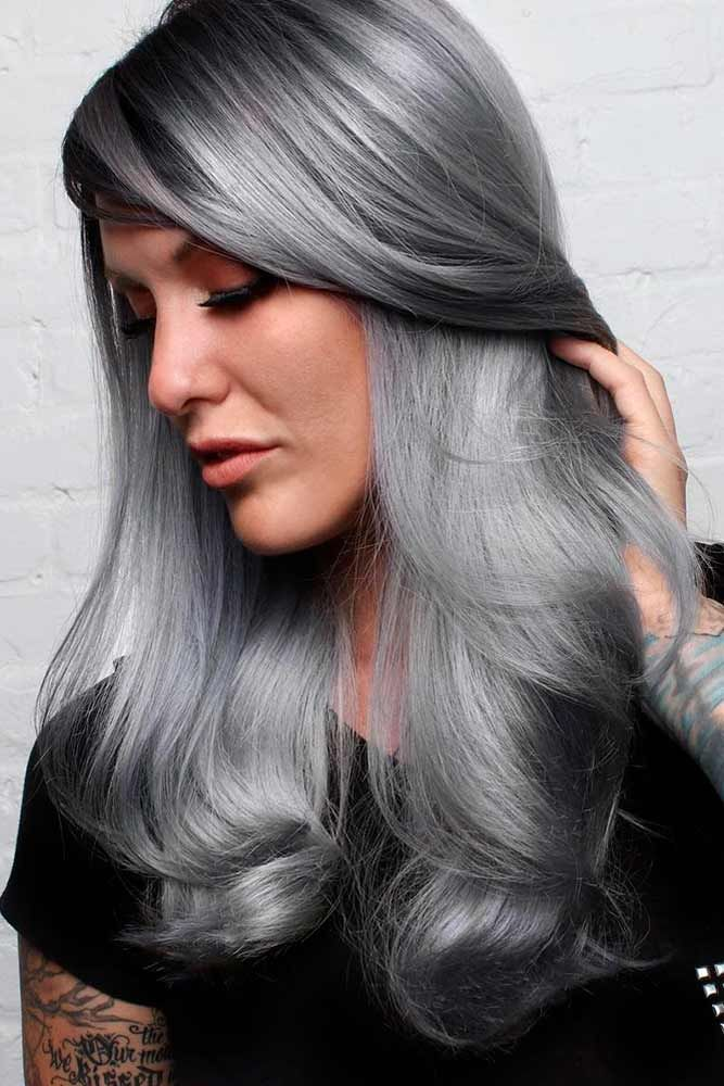 Gray hair is all the rage at the moment. Are you ready to embrace your gorgeous ...