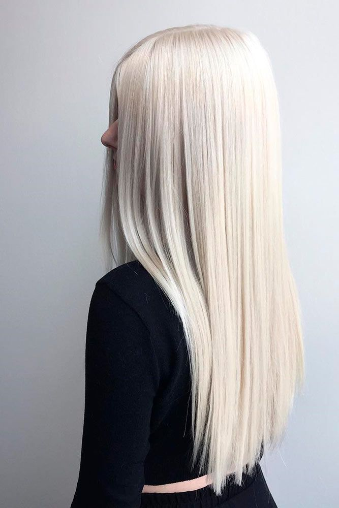 White blonde hair is the dream of many women disregarding the age. And there is ...