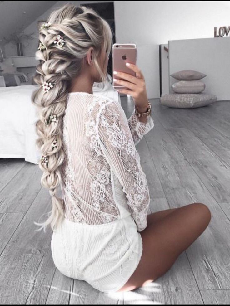 Trending braids and hairstyles from Pinterest...