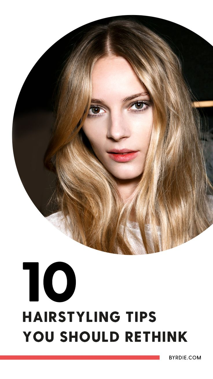 10 hair myths you should reconsider...