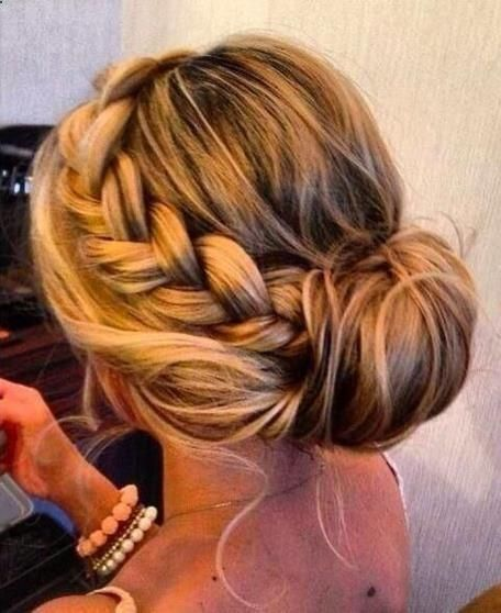 Graceful and Beautiful Low Side Bun Hairstyle Tutorials and Hair Looks...