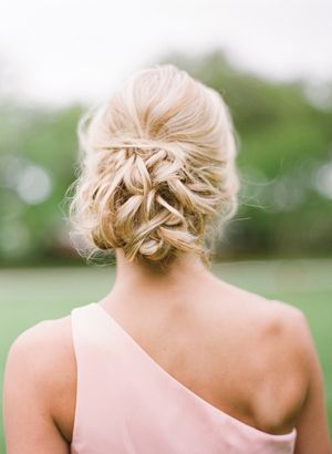 relaxed up do | Eric Kelley #wedding...