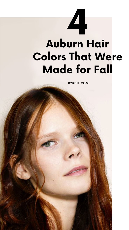 The best auburn hair colors...