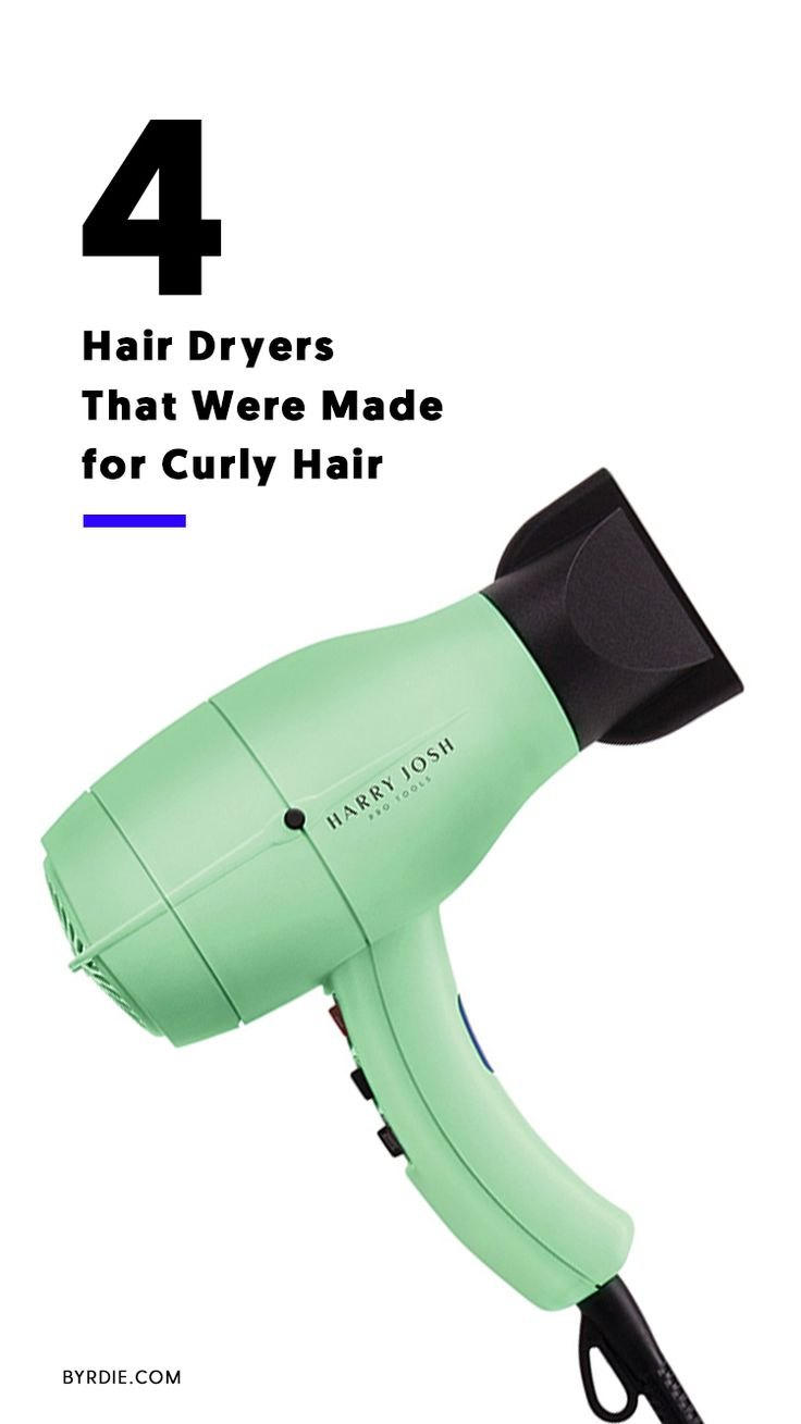 The best hair dryers for curly hair...
