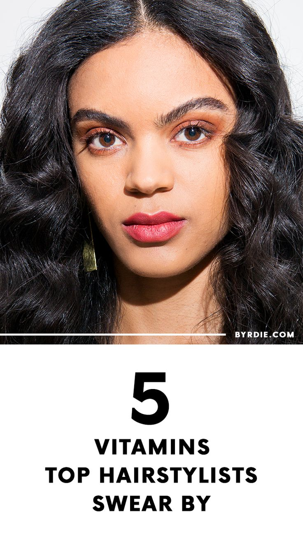 The best hair vitamins for hair growth...