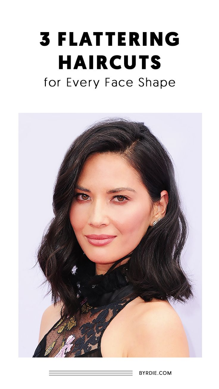 The best haircuts for every face shape...
