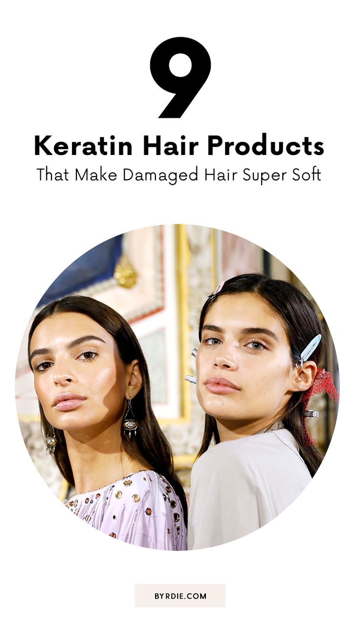 The best keratin hair products...