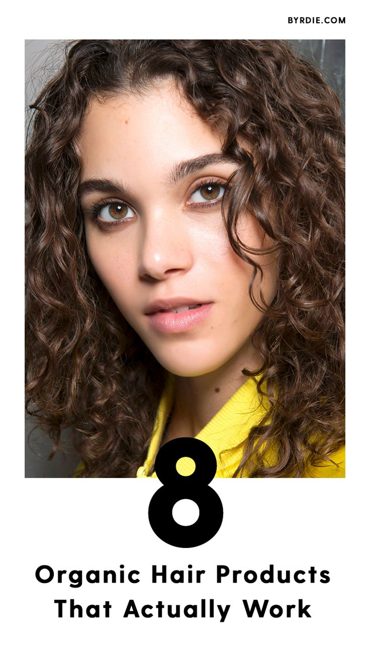 The best natural hair products...