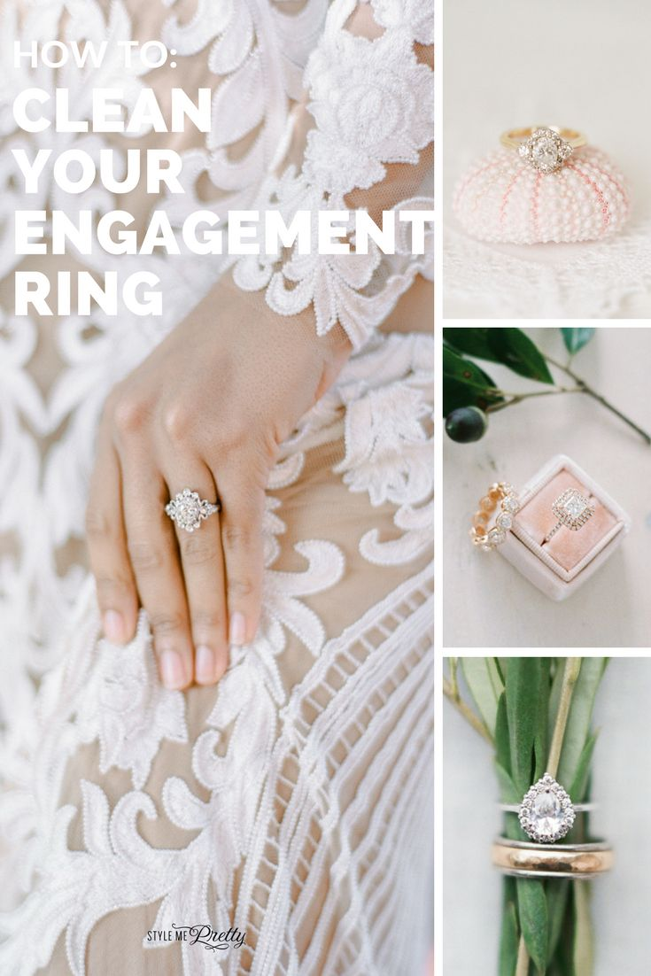 3 Ways to Make Your Engagement Ring Sparkle...