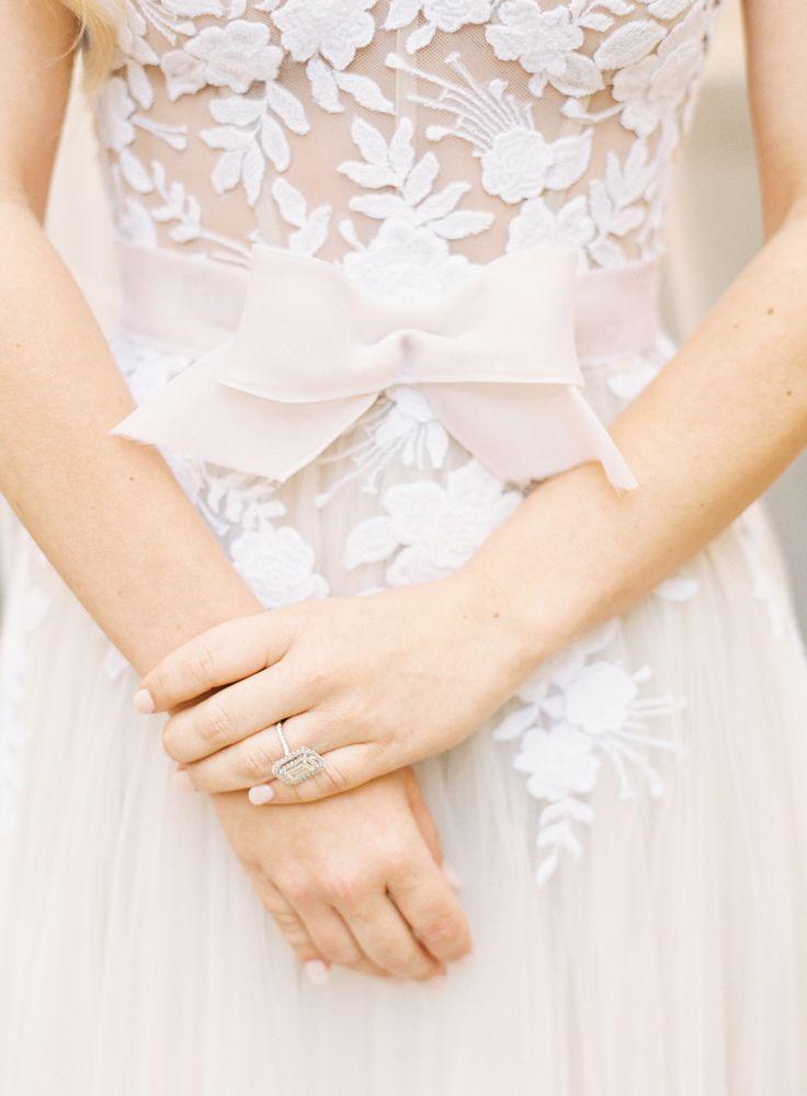 Blush wedding details: Photography: Lauren Peele - www.laurenpeeleph......