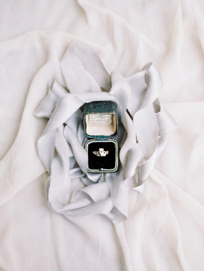 Claddagh Irish good luck ring: Photography: Sophie Kaye - sophiekayephotogr......