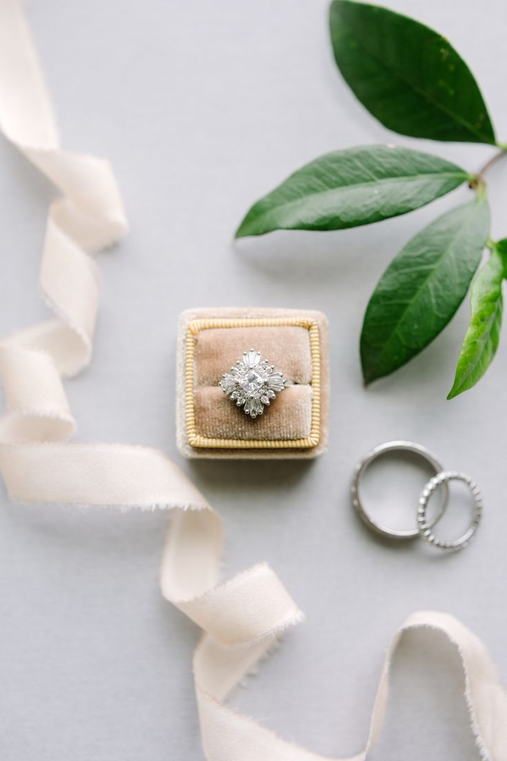 Diamond unique engagement ring: Photography: Julie Wilhite - juliewilhite.com/...