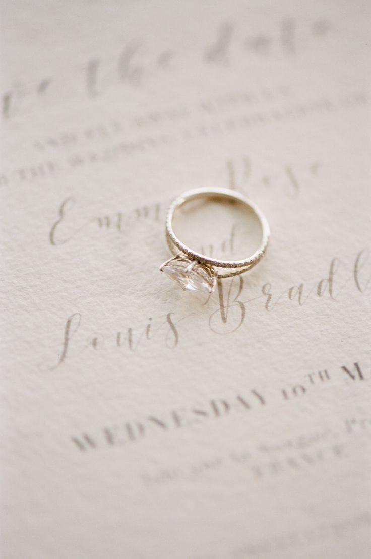 Elegant engagement ring: Photography: Tamara Gruner - tamaragruner.com/...