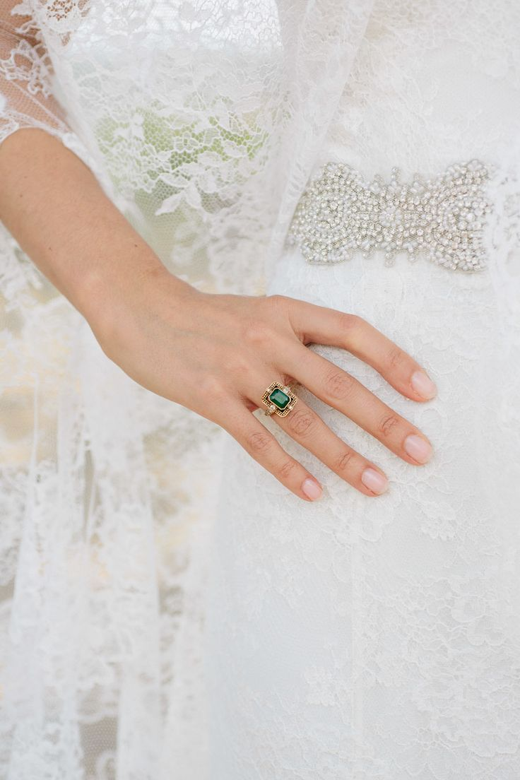 Emerald engagement rings that will make you green with envy! | Photography: Rad ...