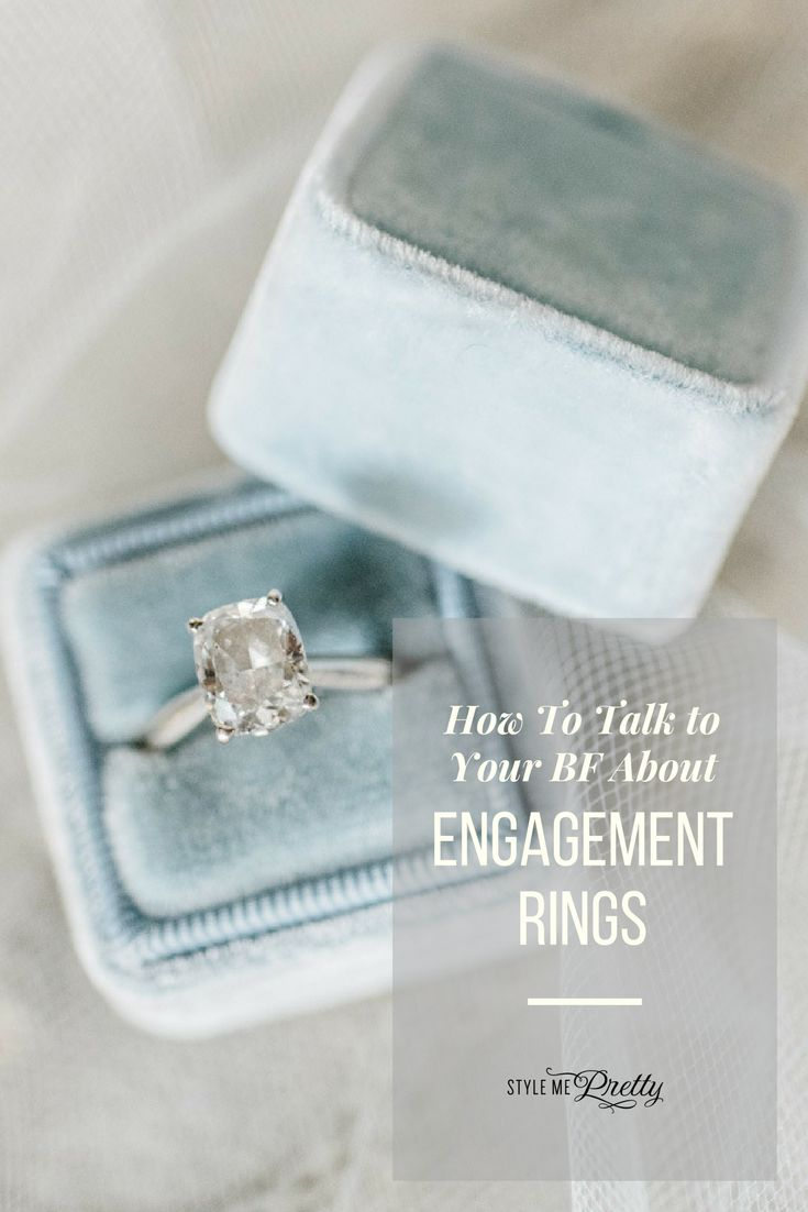How to talk to your BF about engagement rings! | Photography: Caroline Lima...