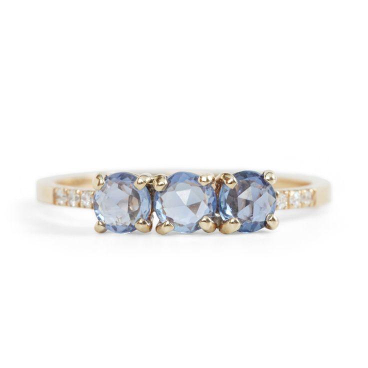 Jennie Kwon Painter's Blue Sapphire Ring...