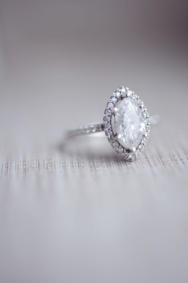 Marquise engagement ring: Photography: Amsis - amsisphotography.......