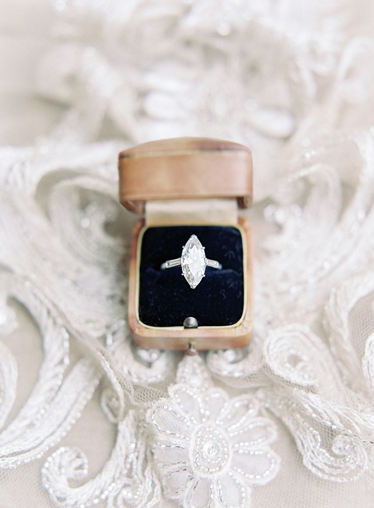 Marquise engagement ring | Photography: Rachel May...