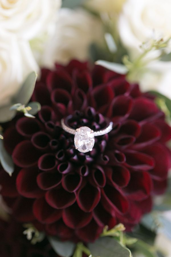 Oval-cut engagement ring: Photography: Amy Rizzuto - amyrizzutophotogr......