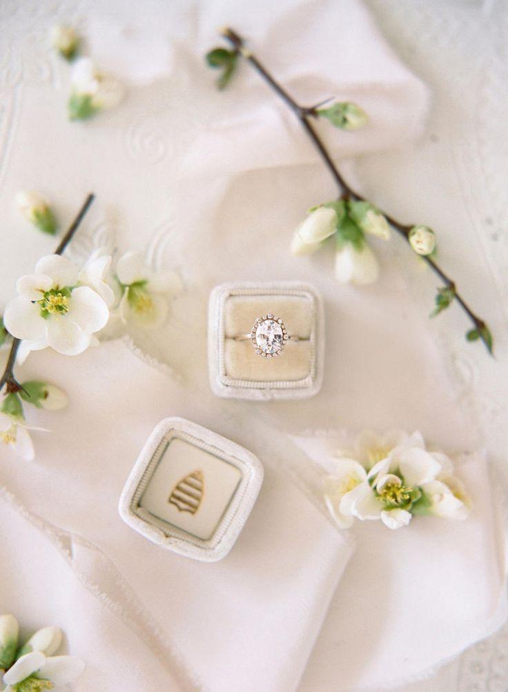 Oval-cut engagement ring: Photography: Audra Wrisley - audrawrisley.com/...