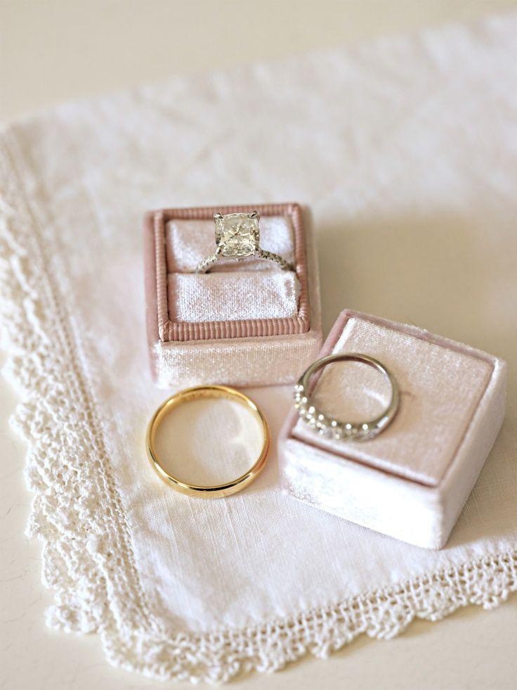 Princess-cut engagement ring: Photography: Alison Conklin - alisonconklin.com/...