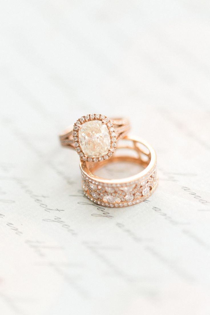 Rose gold engagement ring: Photography: Corina V. - corinavphotograph......