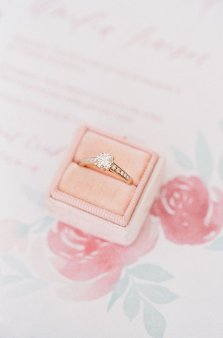 Round-cut diamond ring: Photography: Nathalie Cheng - www.nathaliecheng......