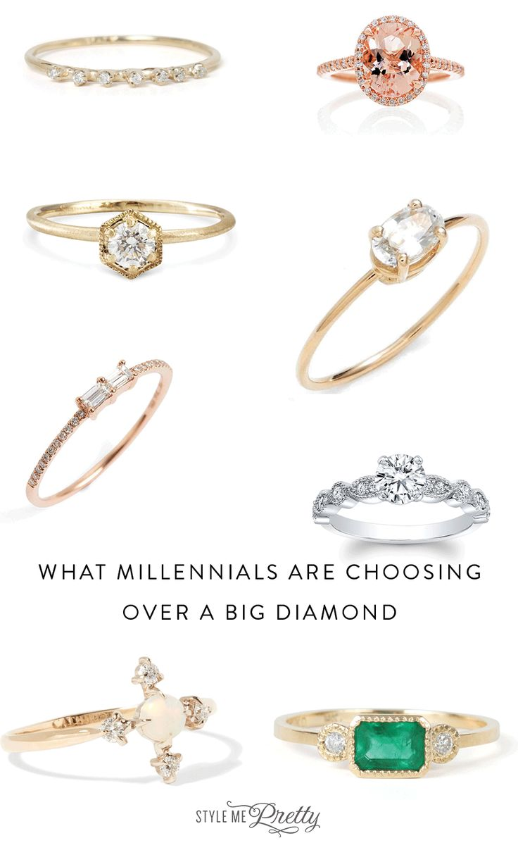 The Surprising Reason Millennials Are Opting Out Of Expensive Engagement Rings...