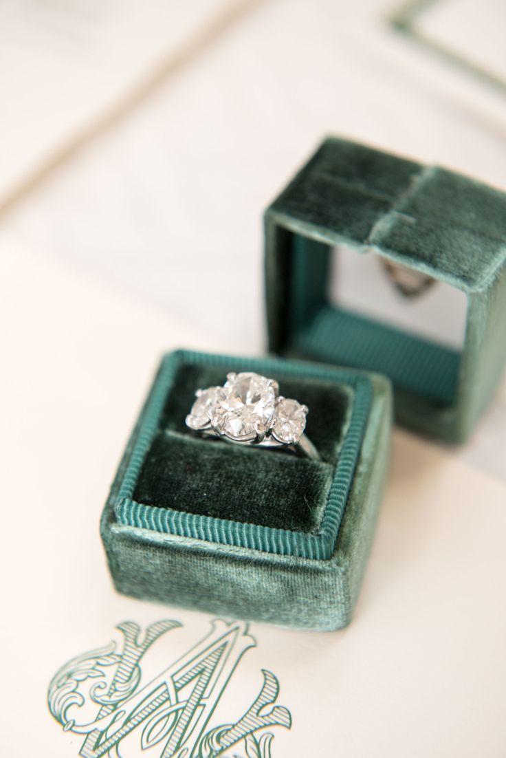 Three stone engagement ring: Photography: Daniel Taylor - www.danieltaylorp......