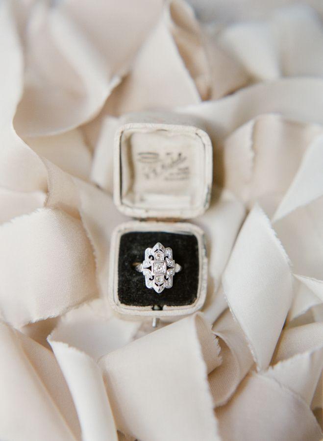 Unique diamond ring: Photography: Taylor & Porter - www.taylorandport......