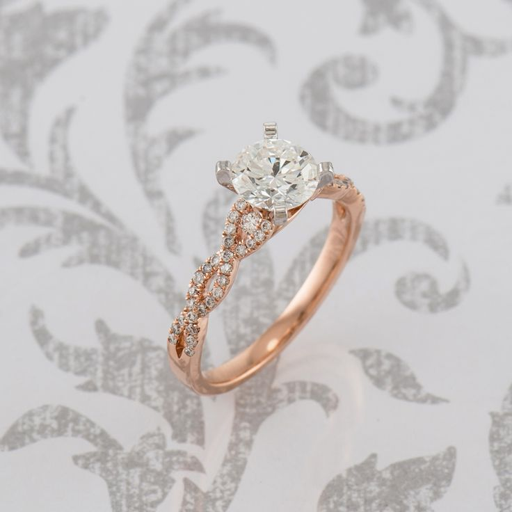 You can never go wrong with an infinity engagement ring, so why not add a little...