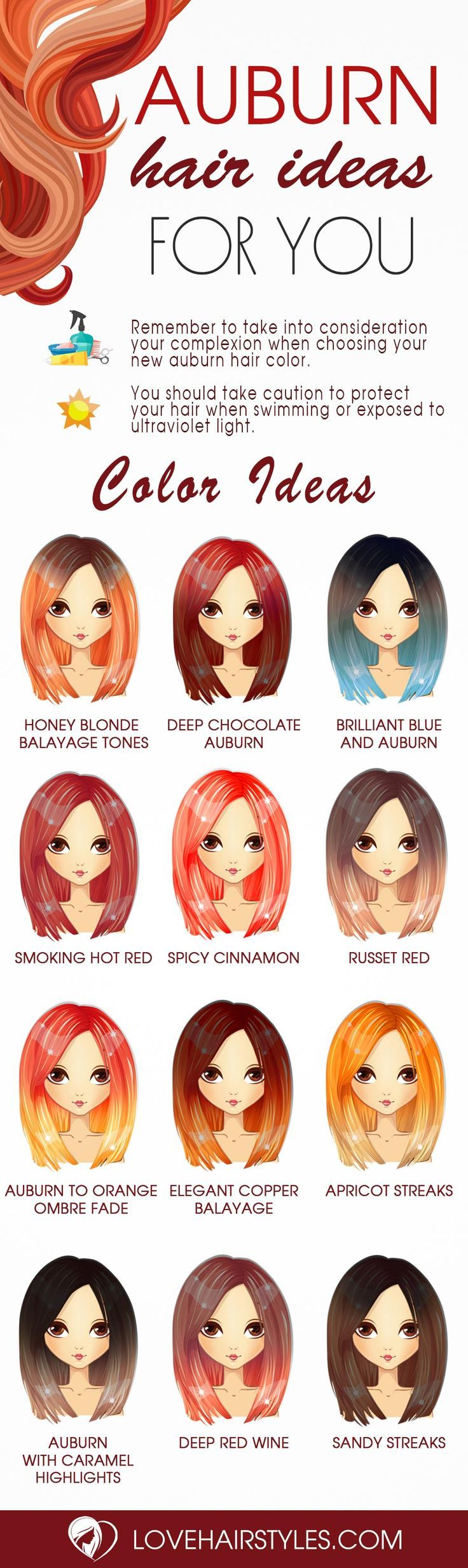 Absolutely Adorable Auburn Hair Shades ★ See more: lovehairstyles.co......