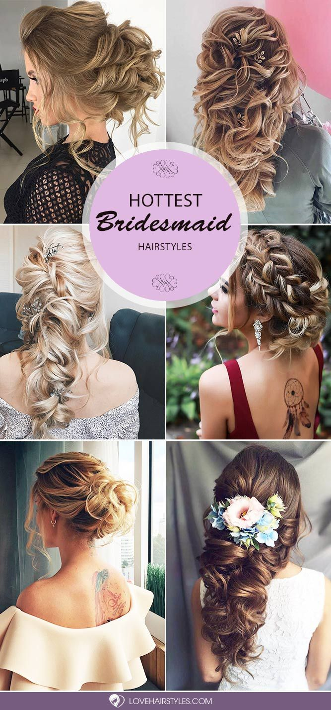 Bridesmaid hair styles are big in number, and it is not that easy to make a choi...