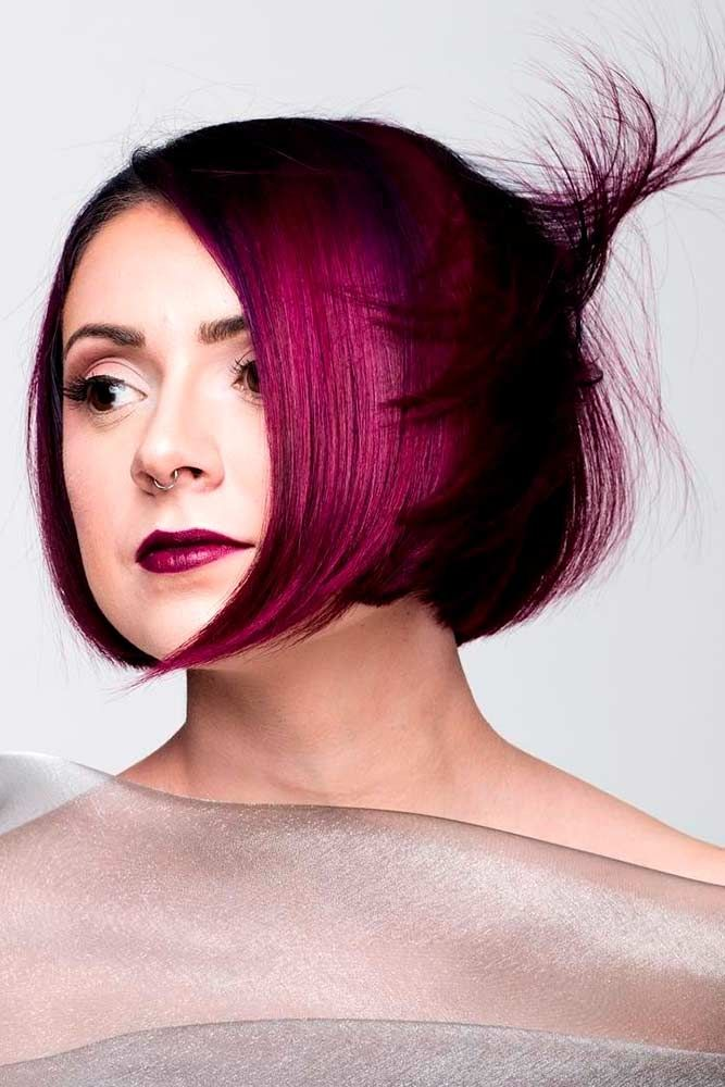 Check out these gorgeous burgundy hair colors for a sexy, sultry look that will ...