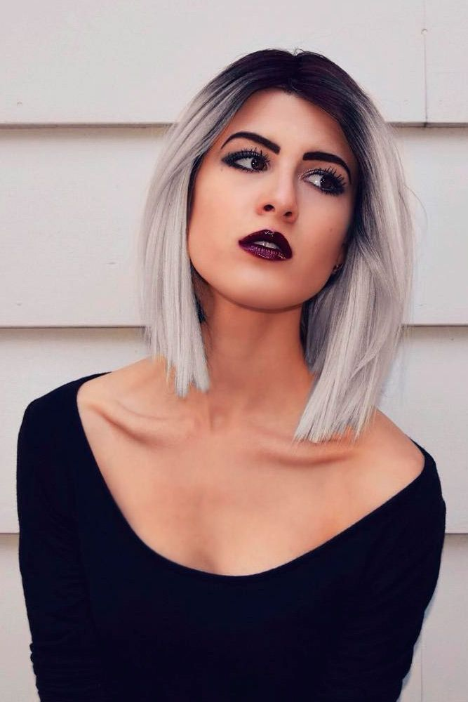 Cool Ways How to Wear Your Short Grey Hair ★ See more: lovehairstyles.co......