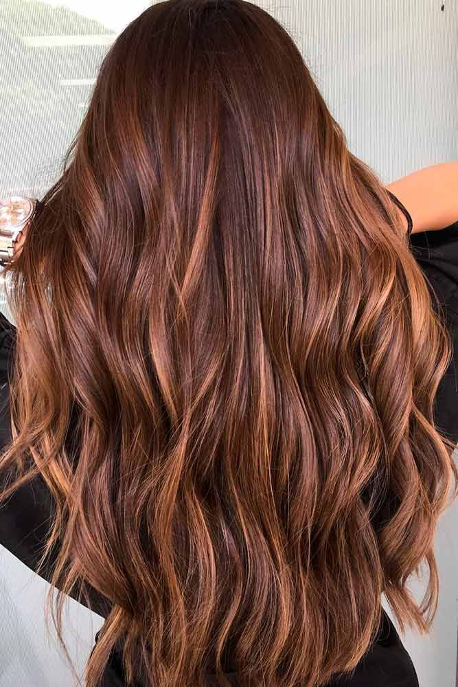 Highlights for Dark Brown Hair Color Tiger Eye: 15 Stunning New Ideas ❤ Fabulo...
