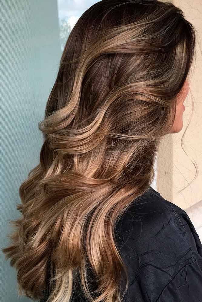 Highlights for Dark Brown Hair Color Tiger Eye: 15 Stunning New Ideas ❤ Gorgeo...