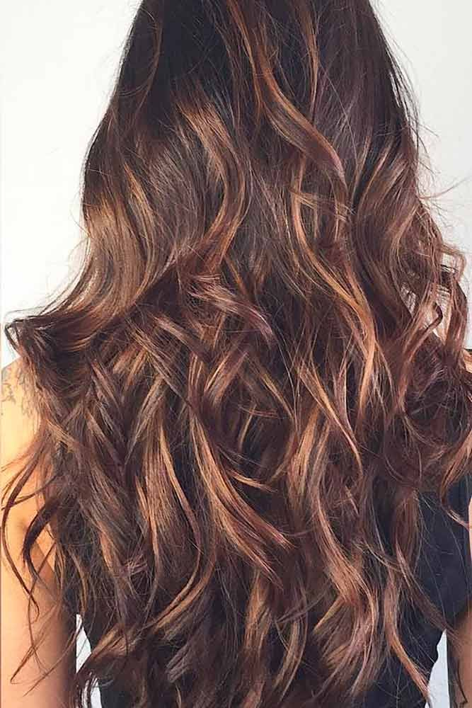 Hair Color 2017 2018 Highlights For Dark Brown Hair