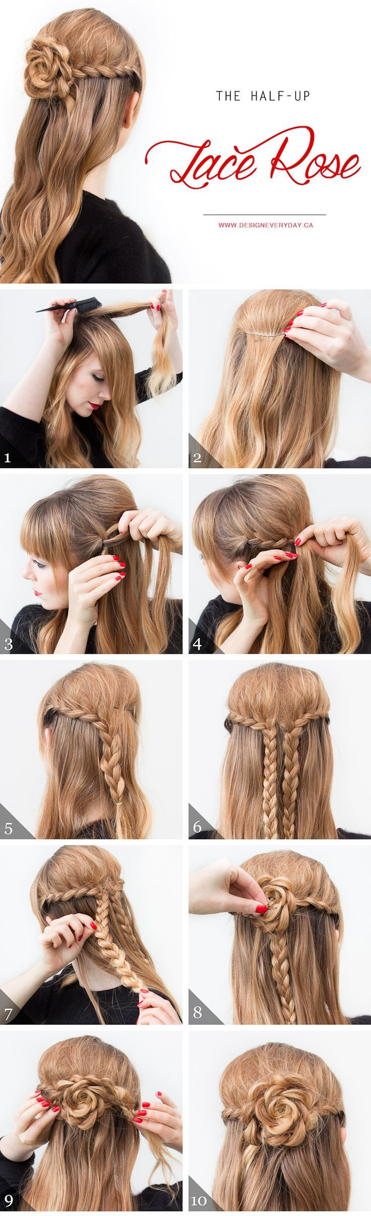 As you can see, this hairstyle isn't as complicated as it looks!...