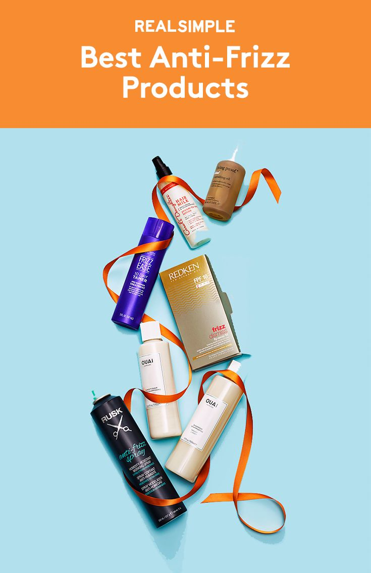 Best Anti-Frizz Products | Poof! These picks (from 50 tested) magically smooth o...