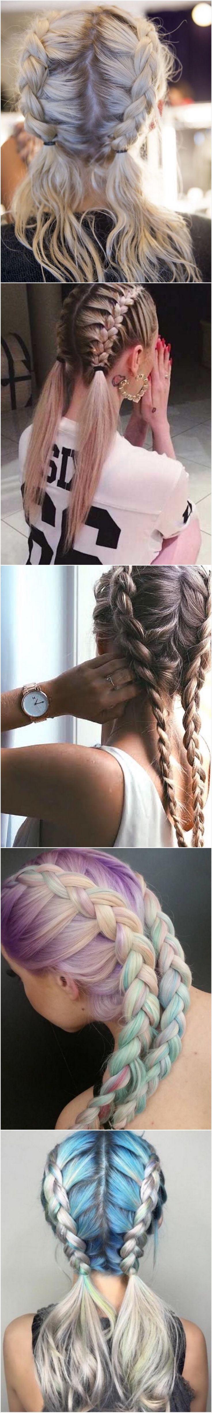 Braided Hairstyles Ideas #braids...