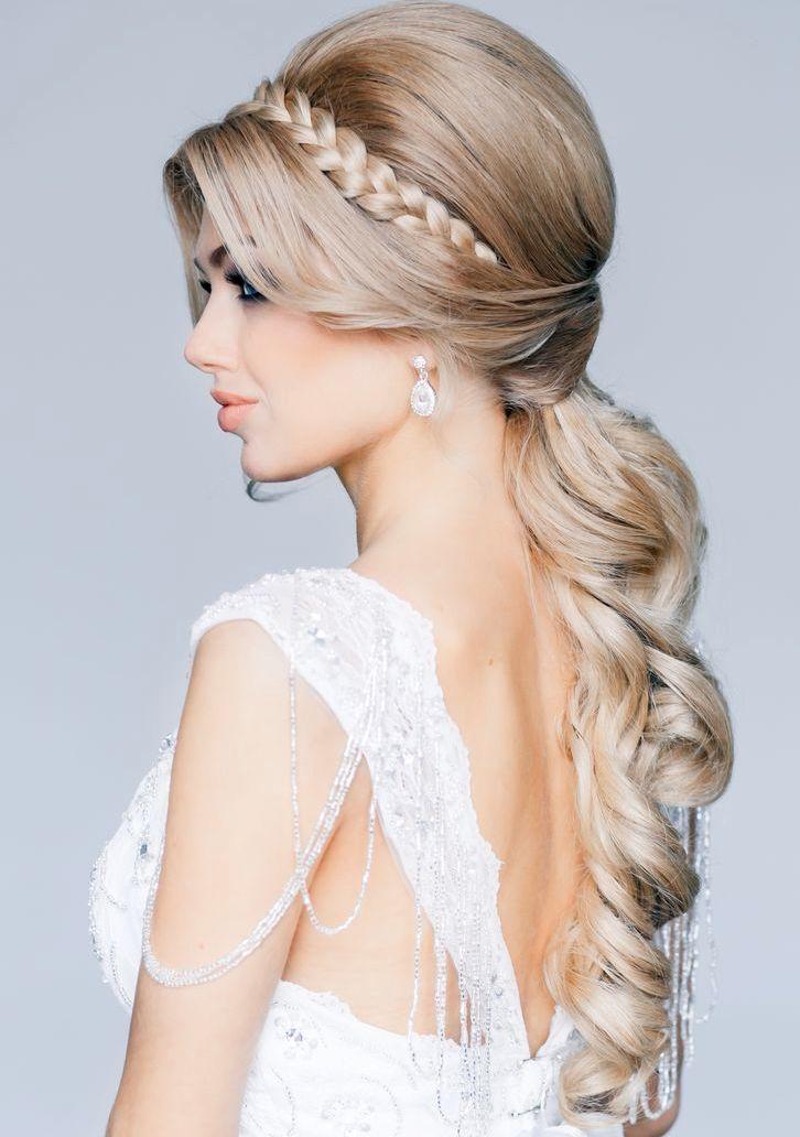 Bridal hairstyle....
