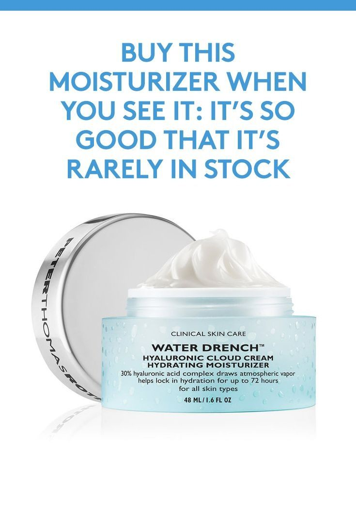 Buy This Moisturizer When You See It: A super-hydrating formula like Peter Thoma...